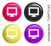 computer multi color glossy...