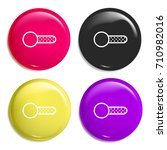 switch multi color glossy badge ...