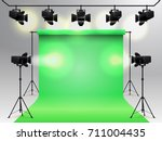 lighting equipment and... | Shutterstock .eps vector #711004435