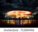 Nuclear Explosion In A City...