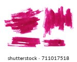 hand made abstract watercolor... | Shutterstock . vector #711017518