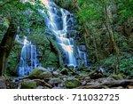 rincon de la vieja falls costa... | Shutterstock . vector #711032725