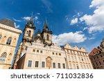 prague   czech republic   june... | Shutterstock . vector #711032836