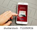 paris  france   sep 26  2016 ...   Shutterstock . vector #711050926
