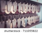 a series of relay coils with... | Shutterstock . vector #711055822