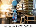 robotics trends technology...   Shutterstock . vector #711063196
