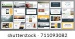 original presentation... | Shutterstock .eps vector #711093082