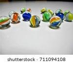 marbles balls   Shutterstock . vector #711094108