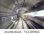 Image Of A Subway Passing...