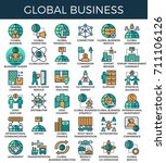 global business concept...
