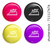 iron multi color glossy badge...