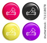 valve multi color glossy badge...