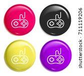 game controller multi color...