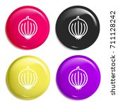 onion multi color glossy badge...