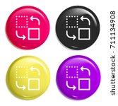 change multi color glossy badge ...