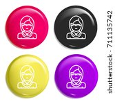 student multi color glossy...