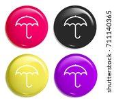 umbrella multi color glossy...