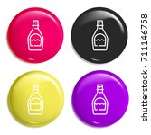 syrup multi color glossy badge...