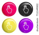tap button multi color glossy...
