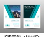 annual report brochure layout...   Shutterstock .eps vector #711183892