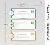 infographics design template... | Shutterstock .eps vector #711219952
