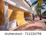 usa. florida. miami beach ... | Shutterstock . vector #711226798
