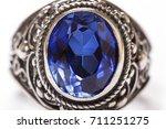 diamond ring elegance luxury... | Shutterstock . vector #711251275