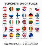 illustration set of european... | Shutterstock . vector #711264082