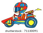 funny character | Shutterstock .eps vector #71130091