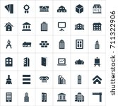 vector illustration set of... | Shutterstock .eps vector #711322906
