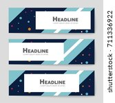 abstract vector layout... | Shutterstock .eps vector #711336922