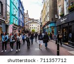 london  uk   circa june 2017 ... | Shutterstock . vector #711357712