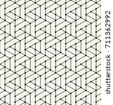 simple seamless geometric grid... | Shutterstock .eps vector #711362992