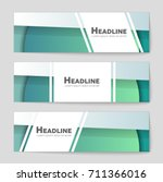 abstract vector layout... | Shutterstock .eps vector #711366016