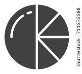 pie chart icon vector  filled...
