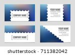 abstract vector layout... | Shutterstock .eps vector #711382042