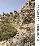 rock stone landscape background | Shutterstock . vector #711384712