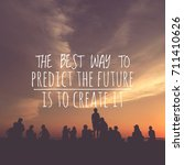 """the best way to predict a... 