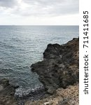 ocean landscape background  | Shutterstock . vector #711411685