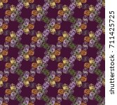abstract color seamless pattern ... | Shutterstock . vector #711425725