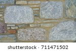 stone wall background | Shutterstock . vector #711471502