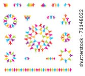 various colorful set of icons   ... | Shutterstock .eps vector #71148022
