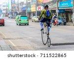 chiangrai thailand   december  ... | Shutterstock . vector #711522865