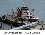 Fdny Fire Boat At Pier 11...