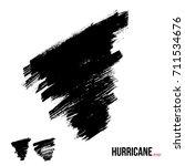 isolated hurricane grunge...   Shutterstock .eps vector #711534676