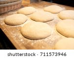 food  cooking and baking... | Shutterstock . vector #711573946