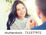 people  love  romance and... | Shutterstock . vector #711577972