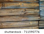 texture. old painted boards.... | Shutterstock . vector #711590776