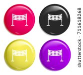 volley net multi color glossy...