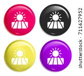 fields multi color glossy badge ...